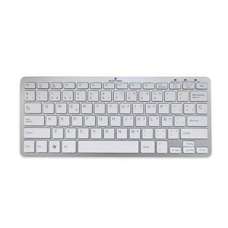 Teclado BLUESTORK Bluetooth blanco(BS-KB-MICRO/BT/SP)