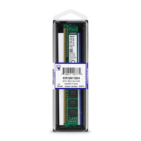 Modulo DDR3 1600Mhz 4Gb KVR16N11S8/4.