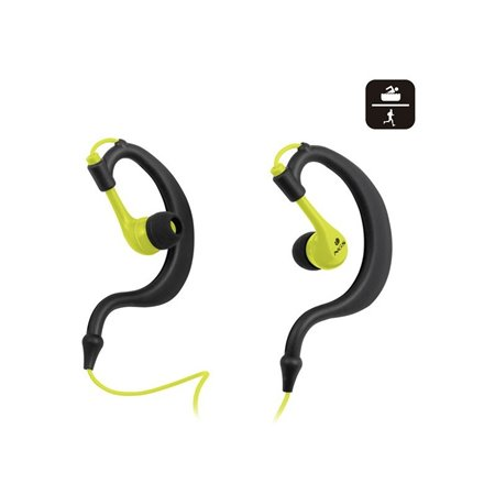 Auriculares NGS Sport Waterproof (TRITON YELLOW)