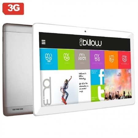 "Tablet BILLOW X103PROS 10.1"" QCore 2Gb 32Gb A8.1 Plata"