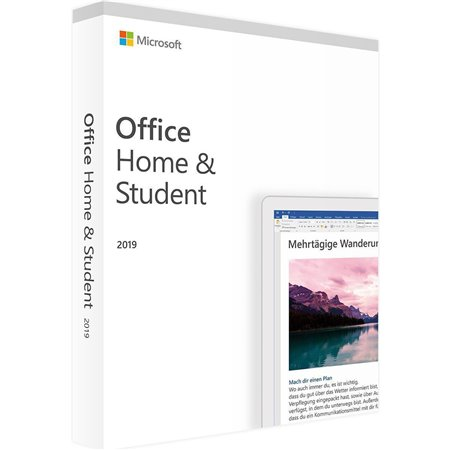 Microsoft Office Home and Student 2019 ESD Word/Excel/PowerPoint/Outlook/OneNote