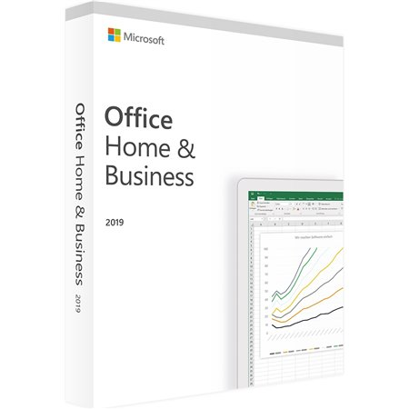 Microsoft Office Home and Business 2019 ESD Word/Excel/PowerPoint/Outlook/OneNote