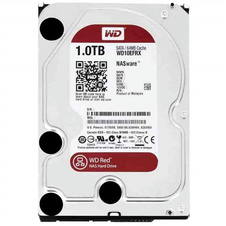 "Disco WD Red 1Tb 3.5"" SATA3 64Mb IntelliPower (WD10EFRX)"
