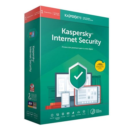 Kaspersky Internet Security 2020 1U 1a (KL1939S5AFS-20)