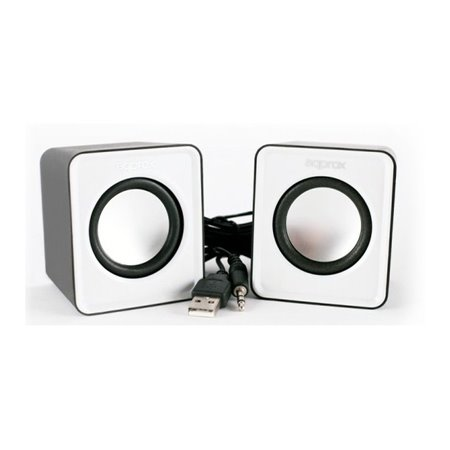 Altavoces APPROX Multimedia 2.0 5W Blanco (APPSPX1W)