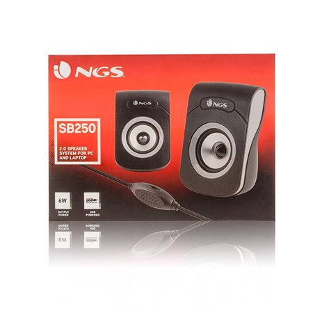 Altavoces NGS Multimedia 2.0 6w USB (SB250)