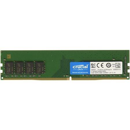 Módulo CRUCIAL DDR4 2666MHz 4Gb (CT4G4DFS8266)