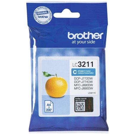 Tinta BROTHER Cyan (LC3211C)