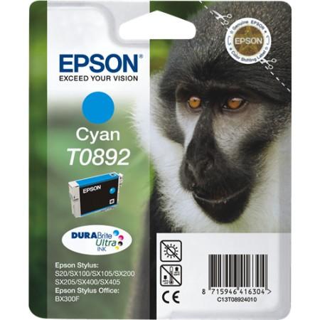 Tinta Epson T0892 Cyan S20/SX100/SX105/SX200/