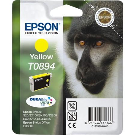 Tinta Epson T0894 Amarilla S20/SX100/SX105/SX200/