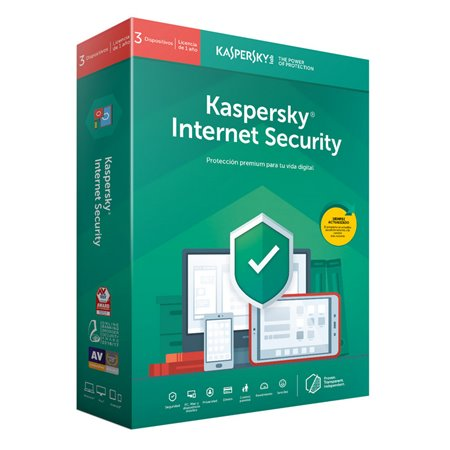 Kaspersky Internet Security 2019 3 Eq Licencia Digital
