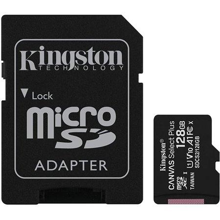 KINGSTON Micro SD HC Canvas 128Gb(SDCS2/128GB)