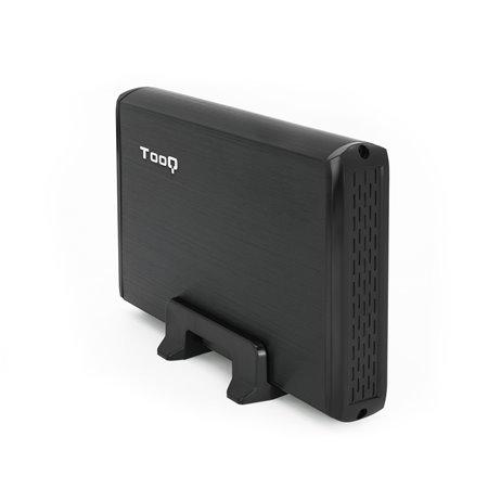 """Caja HDD TOOQ 3.5"""" SATA USB2 Negro(TQE-3509B)"""