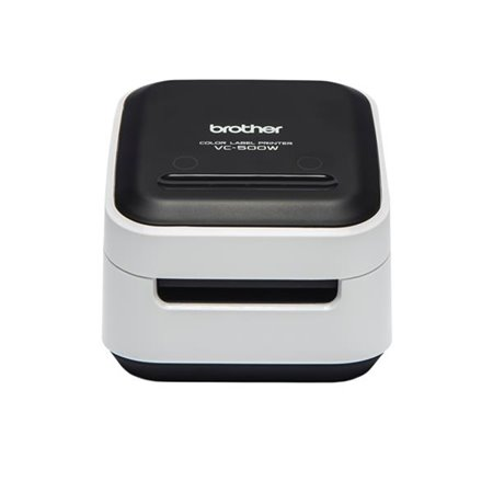 Impresora Etiquetas BROTHER Color 8mm WiFi USB (VC-500W