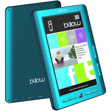 "e-Book BILLOW 7""TFT 4Gb Blue (E2TLB)"