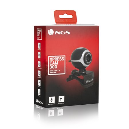 Webcam NGS USB 300k XPRESSCAM300