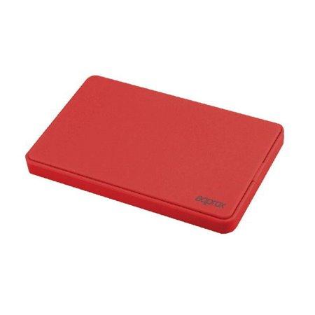 """Caja HDD APPROX 2.5"""" SATA Usb2.0 Rojo (APPHDD200R)"""