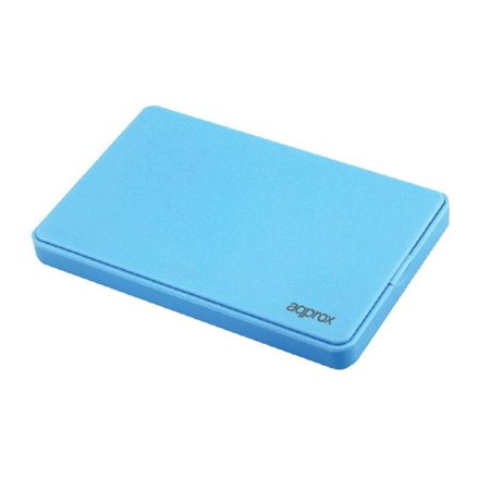 "Caja HDD APPROX 2.5"" SATA Usb3.0 Azul (APPHDD300LB)"