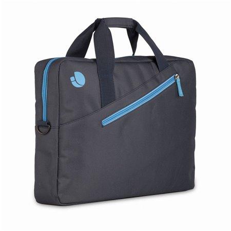 "Maletin NGS Monray 15.6"" Negro/Azul (GINGER BLUE)"