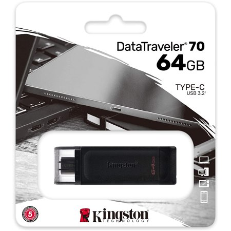 Pendrive KINGSTON Datatraveler70 64Gb USB-C  DT70/64GB