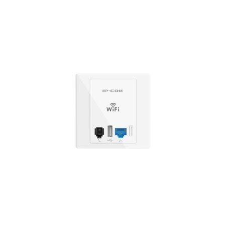 Pto. Acceso IP-COM de Pared 300Mbps+RJ11 (AP255)