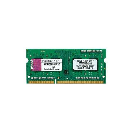 Modulo DDR3 1066Mhz SODIMM 1Gb KVR1066D3S7/1G