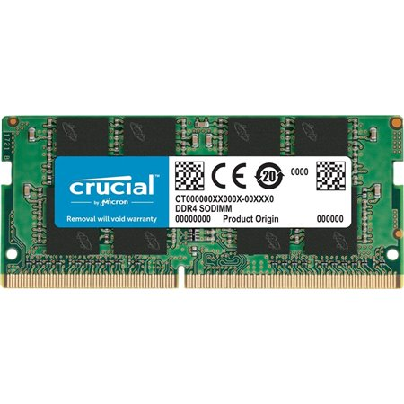 Módulo CRUCIAL DDR4 4Gb 2400Mhz SoDIMM CT4G4SFS824A