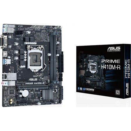 ASUS PRIME H410M-R-SI: (1200) 2DDR4 VGA DVI