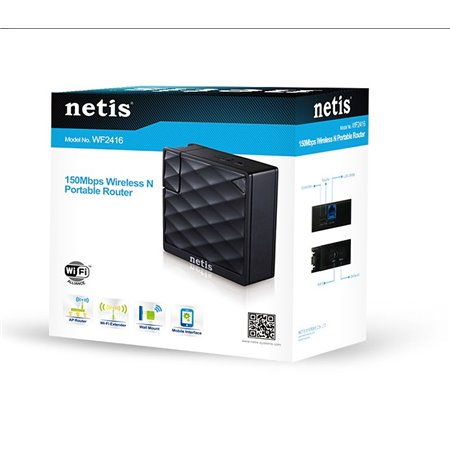 Router/AP NETIS Wireless 150Mbps Portable (WF2416)