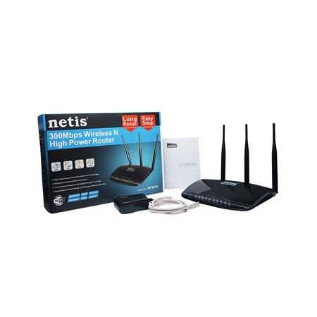 Router/AP NETIS Wireless300Mbps+4LAN 10/100 (WF2533)