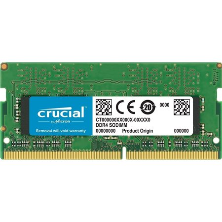 Modulo CRUCIAL DDR4 8Gb 2400m SODIMM (CT8G4S24AM)