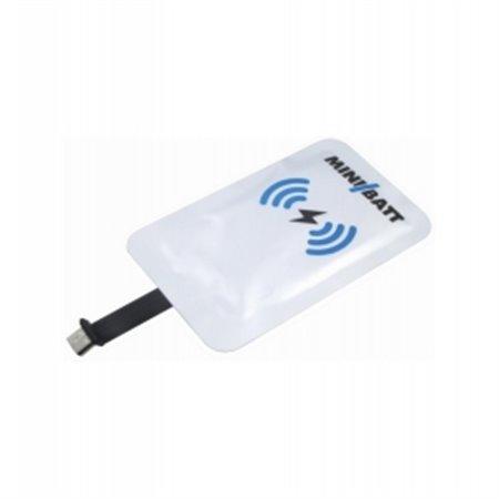 Tarjeta Receptora MiniBatt Qi Micro USB (MB-CARD-USB B)