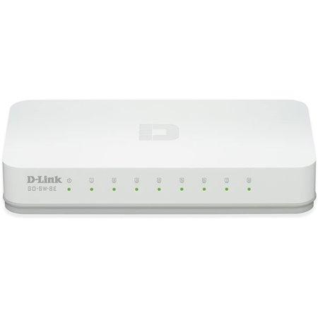 Switch D-Link 8P 10/100 (GO-SW-8E)