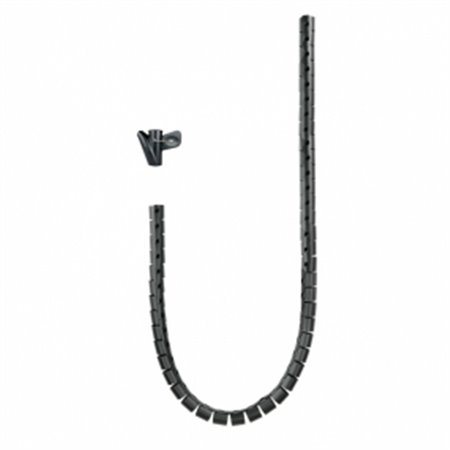 Nanocable Organizador cables flexible 1m(10.36.0001-BK)