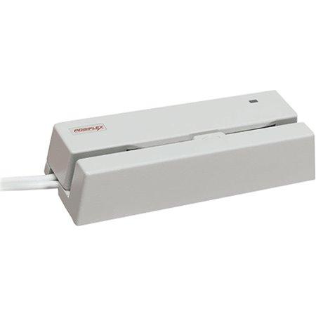 Lector tarj magnetica Posiflex 2p Blanco PS2 (MR-2000)