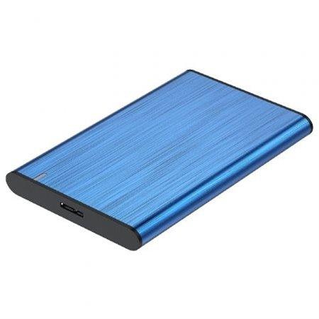 """Caja HDD AISENS 2.5"""" Sata a Usb3 Azul(ASE-2525BLU)"""