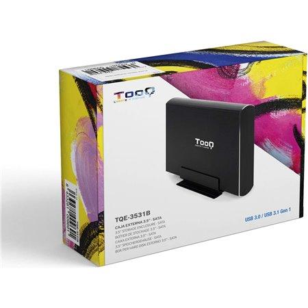 """Caja HDD TOOQ 3.5"""" Usb3.0/3.1 Negro (TQE-3531B)"""