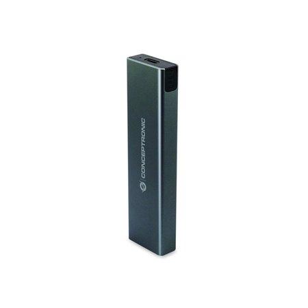 Caja CONCEPTRONIC HD M.2 SATA/NVMe SSD USB-C (DANTE01G)