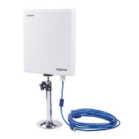Antena USB APPROX Wireless 150Mbps 26dBi (APPUSB26DB)
