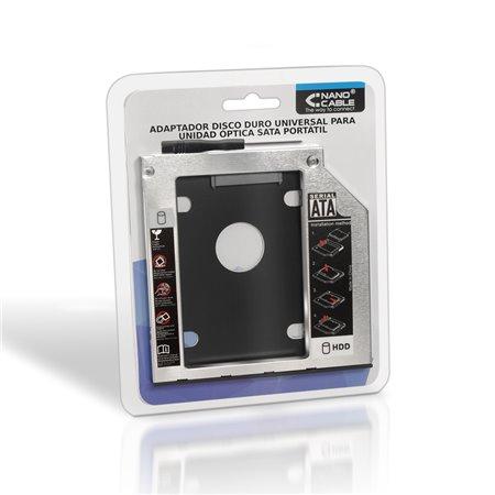 Adaptador HDD 7mm a Optico Portátil 9.5mm (10.99.0101)