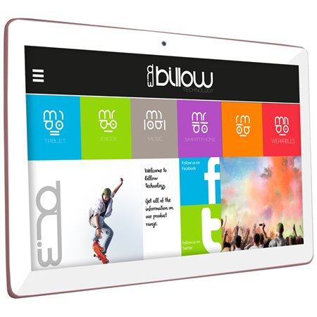 "Tablet BILLOW X104P 10.1""IPS HD QCore 16Gb 4G A7 Rosa"