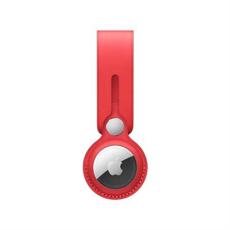 Correa APPLE Airtag Loop cuero Rojo (MK0V3ZM/A)