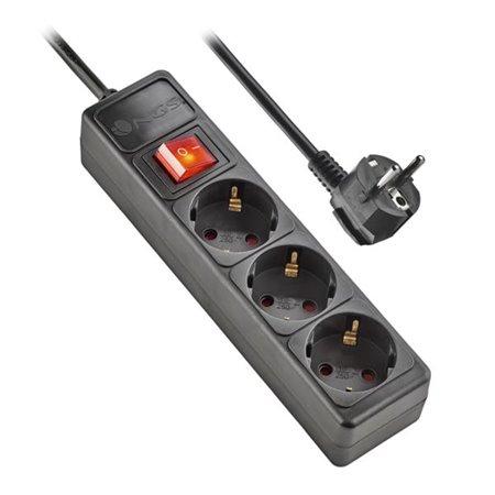Regleta NGS 3Tomas con interruptor (POLE300)