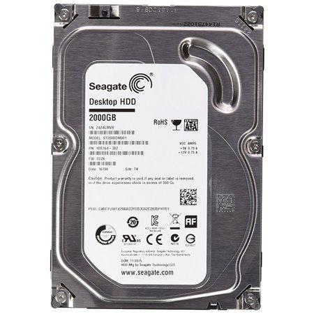"Disco Seagate 2Tb 3,5"" SATA3 7200rpm (ST2000DM008)"