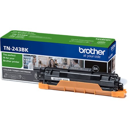 Toner BROTHER Negro 2500 pág (TN243BK)