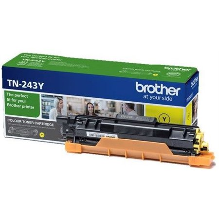 Toner BROTHER Amarillo 1000 pág (TN243Y)