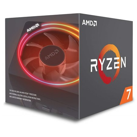 AMD Ryzen 7 2700X 3.7Ghz 16Mb AM4 Caja