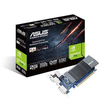 ASUS PCIe Nvidia GT710 2Gb DDR5 (GT710-SL-2GD5)