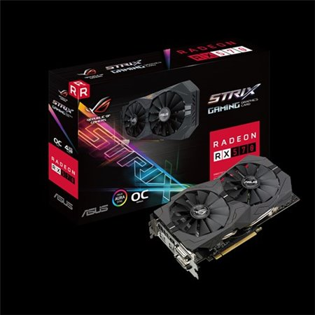 ASUS PCIe3 AMD 4Gb GDDR5 (ROG-STRIX-RX570-4G-GAMING)